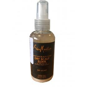 "Shea Moisture Elixir cuir chevelu sec African Black Soap ""Dry scalp"" 118ml"