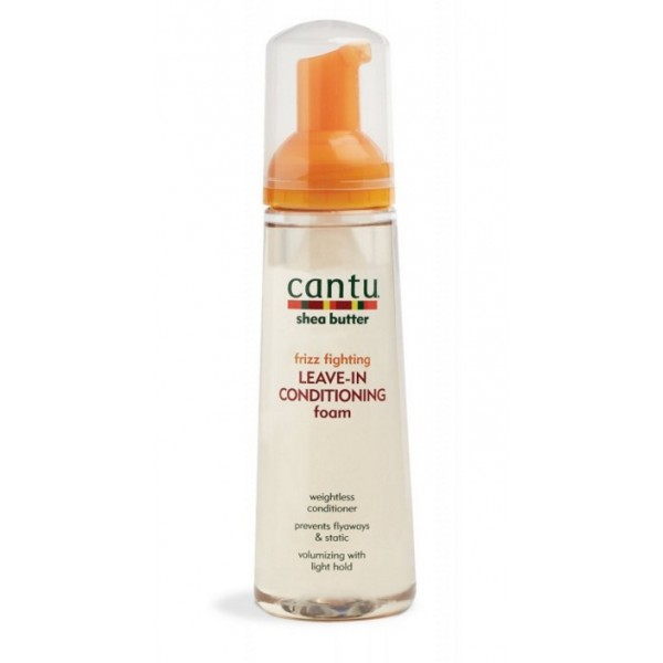 CANTU Mousse anti-frizz KARITE 248ml LEAVE-IN CONDITIONING FOAM