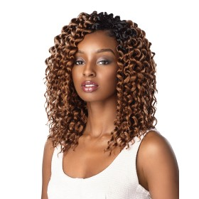 SENSAS natte 3x CHUNKY TWIST OUT 10""