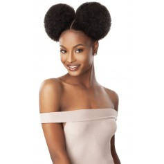 OUTRE postiche AFRO PUFF DUO LARGE (Quick Pony)