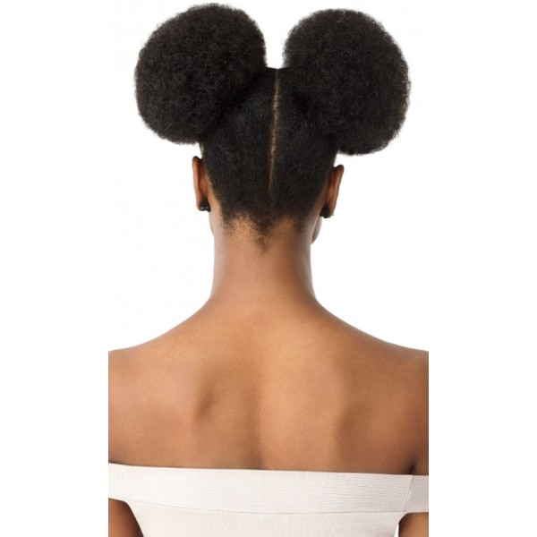 OUTRE postiche 2 pcs AFRO PUFF DUO LARGE (Quick Pony)
