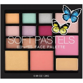 BEYOURSELF Palette Full Make-up SOFT PASTELS 28g