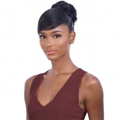 EQUAL postiche + frange FANCY BUN BANG 2pcs (Swoop Side)