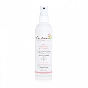 CAROLINA B Spray Hydratant et Démêlant AMANDE DOUCE & HUILE de YANGU 200ml Pour ENFANTS