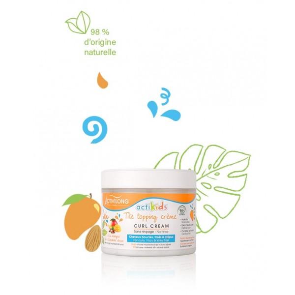 ACTIVILONG Topping crème MANGUE & AMANDE DOUCE 300ml (ACTKIDS)