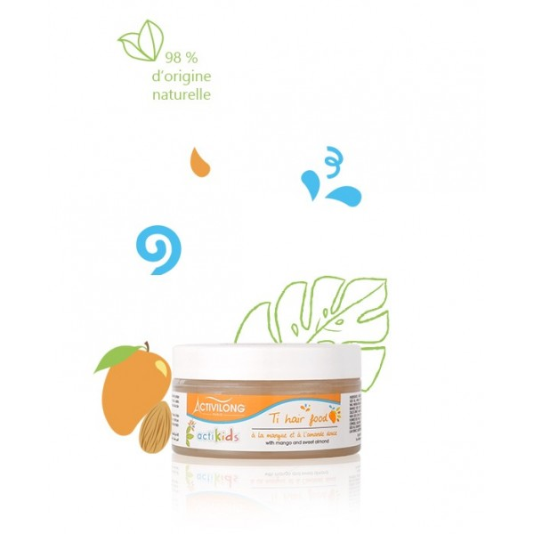 ACTIVILONG Baume hair food MANGUE & AMANDE DOUCE 100ml (ACTIKIDS)