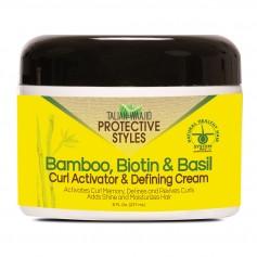 Crème définissante boucles BAMBOU, BIOTINE & BASILIC 237ml