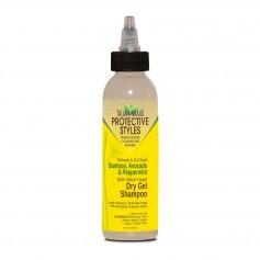 Shampooing sec en gel BAMBOU, AVOCAT & MENTHE POIVRÉE 118ml (Dry gel shampoo)