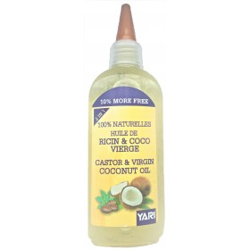 YARI Huile de RICIN & COCO 100% pure 110ml (Castor & Virgin Coconut Oil)