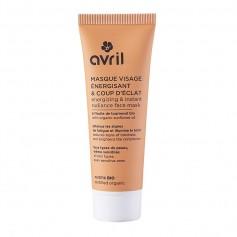 Masque Visage ÉNERGISANT & COUP D'ÉCLAT BIO 50ml