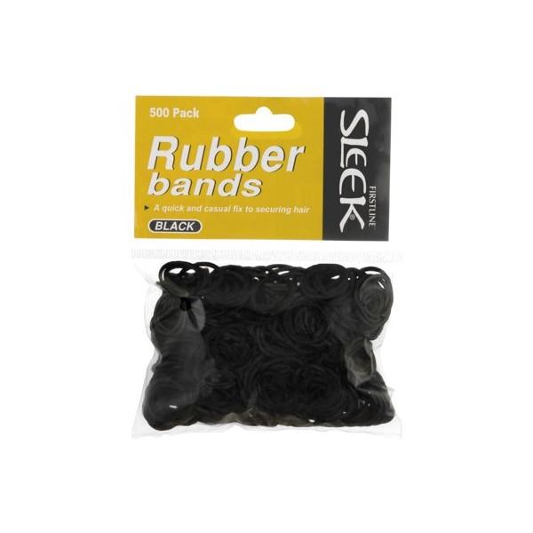Elastiques Noirs x500 (Sleek)