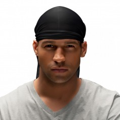 Bonnet noir Durag SPIN CLASSIC DO-RAG (Wav Enforcer)
