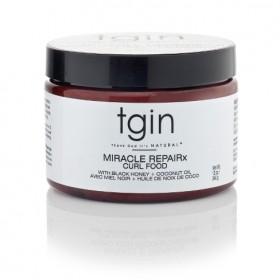 TGIN Crème capillaire hydratante COCO/MIEL 340g (Miracle Repairx Curl Food)