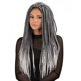 "URBAN BEAUTY natte 4x SENEGAL BOX BRAID 16/18"" (Loop)"