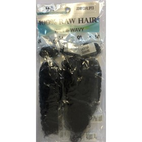 URBAN BEAUTY tissage JERRY CURL 3PCS 14/16/18""
