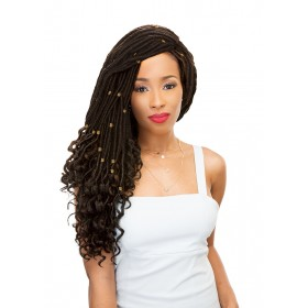"FEMI natte STRAIGHT GODDESS LOCS 20"" (Loop)"