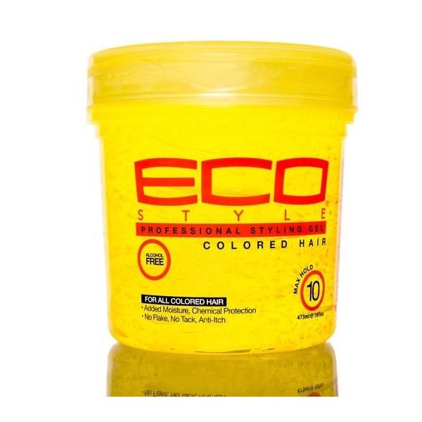 ECO STYLER Gel de fixation pour cheveux colorés 473ml