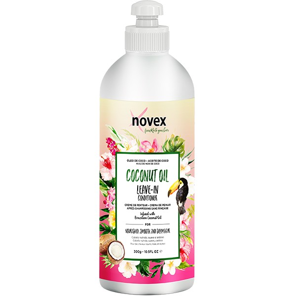 NOVEX Après-shampooing sans rinçage COCO/VITAMINE E 300g