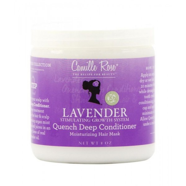 CAMILLE ROSE Masque capillaire LAVANDE 226g (Quench Deep Conditioner)
