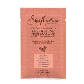 SHEA MOISTURE Masque pour boucles Coco & Hibiscus CURL & SHINE 57g