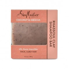 Shampooing solide COCO & HIBISCUS 128g (Rhassoul Clay Bar)