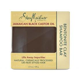 SHEA MOISTURE Shampooing solide JAMAICAN BLACK CASTOR OIL 128g (Bentonite Clay Bar)