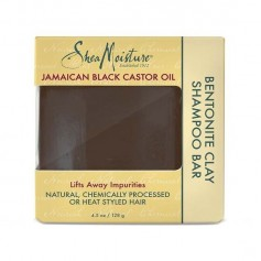 Shampooing solide JAMAICAN BLACK CASTOR OIL 128g (Bentonite Clay Bar)