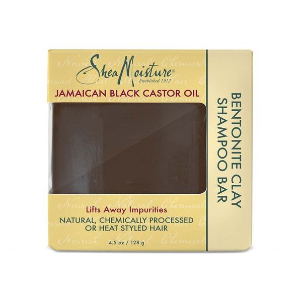 SHEA MOISTURE Shampooing solide JAMAICAN BLACK CASTOR OIL 128g (Bentonite Clay Bar)