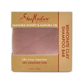 SHEA MOISTURE Shampooing solide MANUKA MAFURA 128g (Bentonite Clay Bar)