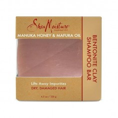 Shampooing solide MANUKA MAFURA 128g (Bentonite Clay Bar)