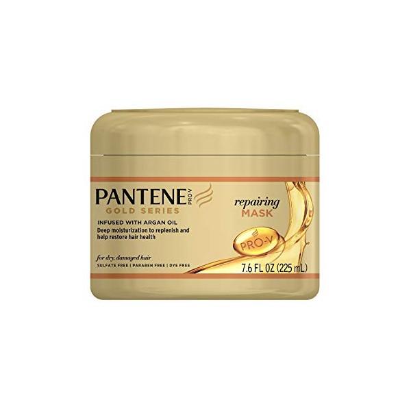 PANTENE Masque réparateur ARGAN 225ml (Repairing Mask) GOLD SERIES