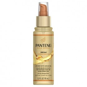 PANTENE Huile capillaire ARGAN 95ml (Hydrating Oil) GOLD SERIES