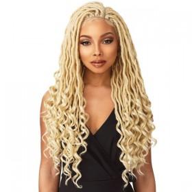 SENSAS braided wig GODDESS LOCS (Swiss Lace)