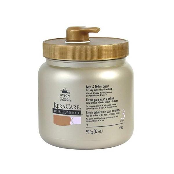 KERACARE Crème définissante boucles pompe Twist & Define 907g
