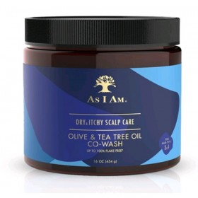 AS I AM Co Wash OLIVE/ARBRE A THE 454g (Dry & Itchy Scalp Care)
