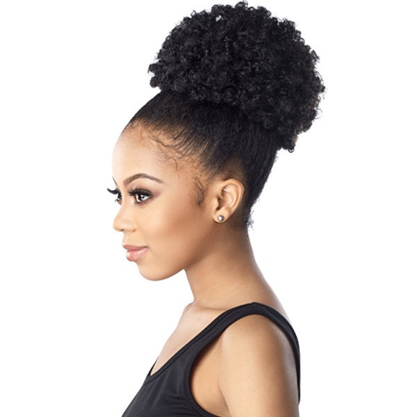 SENSAS postiche AFRO PUFF LARGE (Instant Pony)