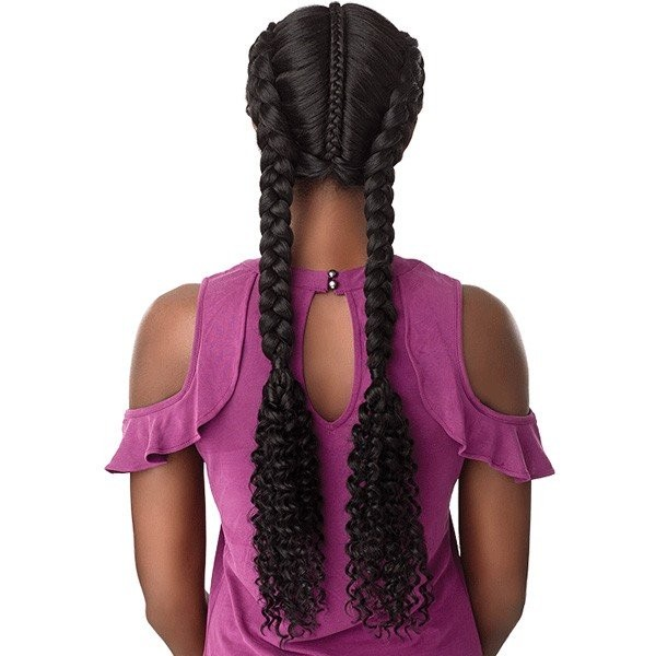SENSAS perruque nattée BOHEMIAN DUTCH BRAID (Swiss Lace)