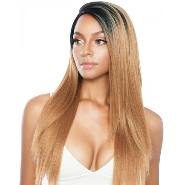 """MANE CONCEPT perruque EAR TO EAR YAKI SLEEK 26"""" (Lace Front)"""