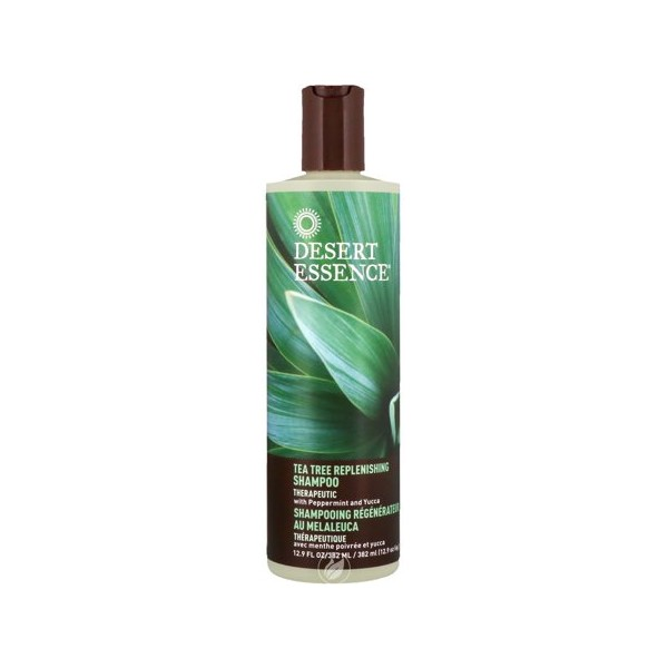 DESERT ESSENCE Shampooing Régénérateur au MELALEUCA 382ml (Tea Tree Replenishing shampoo)