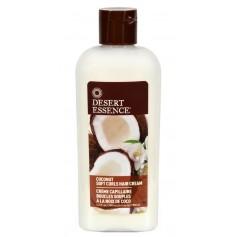 DESERT ESSENCE Crème capillaire COCO pour boucles 190ml (Coconut soft curls hair cream)