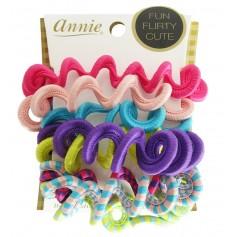 Swirl Elastic Ponytailer x8