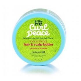 JUST FOR ME Beurre capillaire nourrissant pour enfants 113g (Curl Peace)