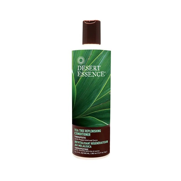 DESERT ESSENCE Après-shampooing Régénateur au Melaleuca 375ml (Tea Tree Replenishing Conditioner)