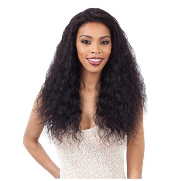 MILKYWAY Naked perruque brésilienne LOOSE DEEP (Lace Front)