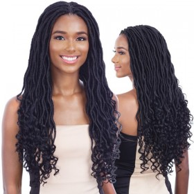 EQUAL braided wig GORGEOUS LOC (Braided Lace Wig)