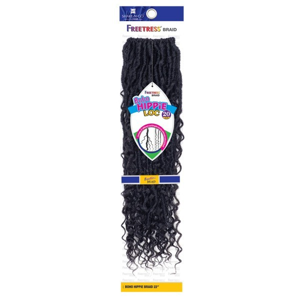 "FREETRESS natte BOHO HIPPIE LOC 20"" (Loop)"