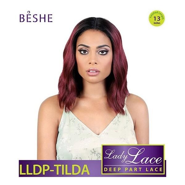 BESHE perruque LLDP TILDA (Deep Part Lace)