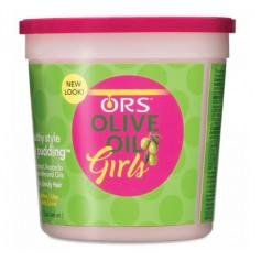 Olive Hair Pudding Girls Hair Cream 368.5g