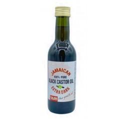 Huile de Carapate Extra Foncée de jamaïque 100% pure 250ml (black castor oil) *