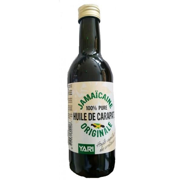 YARI Huile de Carapate Originale de Jamaïque 100% pure 250ml (black castor oil)